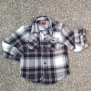 4t Fleece Button Up
